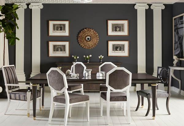 Phong cách thiết kế nội thất classic reinterpreted style