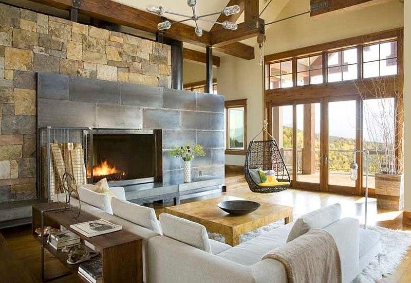 Phong cách thiết kế nội thất rustic style