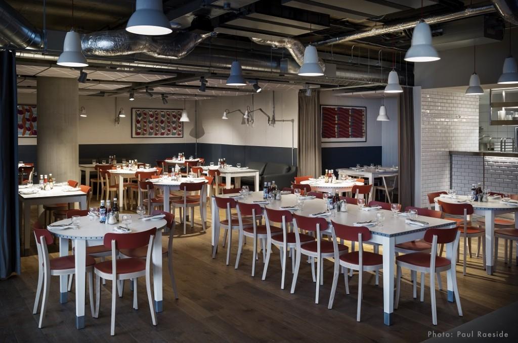 Các Albion Café Mới ở Clerkenwel