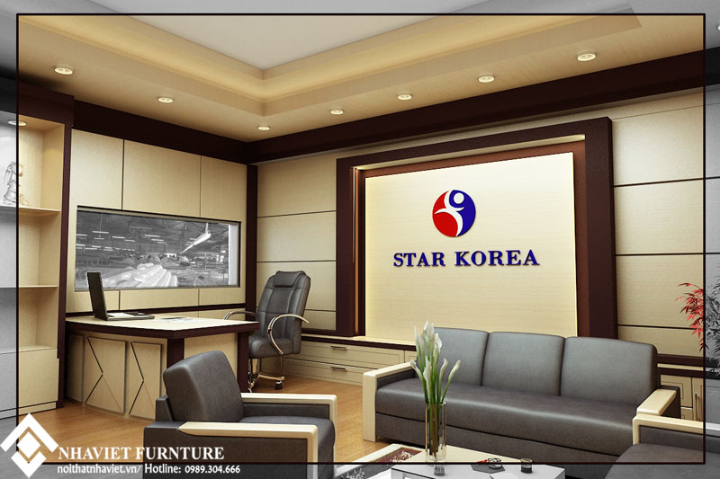 Thiet Ke Noi That Van Phong Cong Ty Han Quoc Star Korea