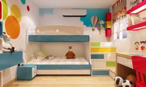 Những điều Cần Lưu ý Khi đặt Giường Tầng Trong Phòng Ngủ Của Bé